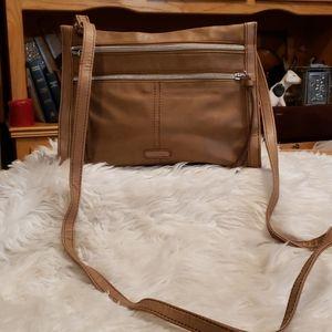 Tan Relic Crossbody Bag